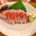 英屋 - 金目鯛の炙り刺身