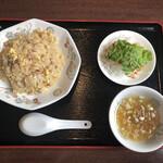 美蘭 - チャーハン定食(580円)