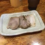 麺武者 - チャーシュー(250円)
