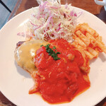 ZAPPA - トマトチーズソースハンバーグ