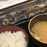 しんぱち食堂 - サバの文化焼き定食