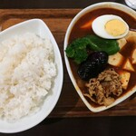 Supukareyaoodori - 赤 豚しゃぶ 豆腐トッピング