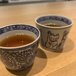 オイモカフェ ゼンプクジ - 焙じ茶