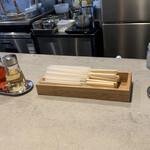 麺屋 しん道 - カウンター