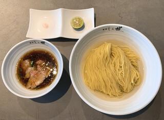 麺屋 しん道 - 淡麗昆布水つけ麺