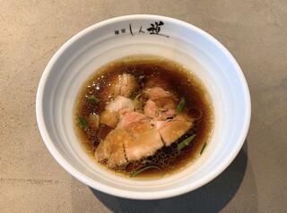 麺屋 しん道 - 淡麗昆布水つけ麺のつけ汁