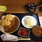 しのざき - 大盛カツカレー 1,000円(税込)