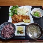 ごん蔵 - とんてき定食 1000円