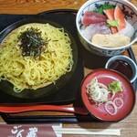 ごん蔵 - ざるラーメン&海鮮丼 1000円
