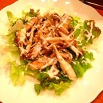 プリミエール - キノコのホットサラダ。美味!
