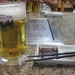 焼肉幸栄 - ビール