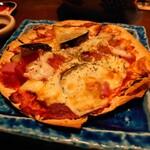味寛 - トマトと茄子のピザ(たしか)