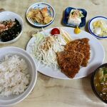 喜久屋 - アジフライ定食 950円