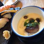 寿司吟 - 茶碗蒸し