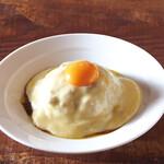 ベシャメルカフェ - 【Curry】とろとろチーズエッグキーマカレー