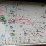 近又 - 出石城下の地図