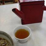 甚兵衛そば - 蕎麦湯