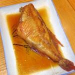 海幸 - 海幸煮魚定食の煮魚(これ+刺身と小鉢の定食あり)