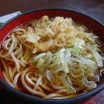 松喜庵 - 玉子丼セットの蕎麦