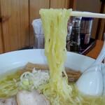 麺や大一 - 山塩ラーメン麺リフト