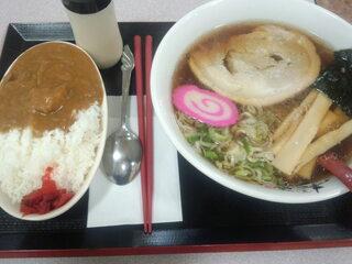 らーめん 丸美 春鶴 - ラーメン+ミニカレーセット 900円