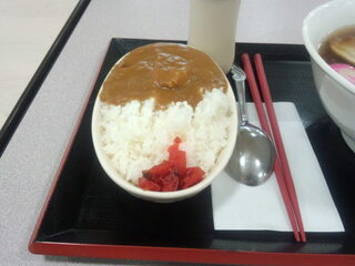 らーめん 丸美 春鶴 - ミニカレー