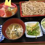 二八そば 晃市 - 料理写真:ミニちらし
