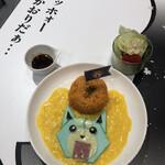 マンガカフェ - WEEDのとろり卵のオムライス(990円)