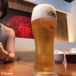 中国料理 空 - 生ビール