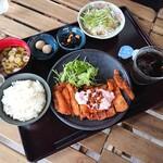 七弐八製麺 - 若鶏南蛮