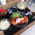 七弐八製麺 - チキンカツ