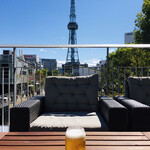 PEANUTS Cafe - テレビ塔にカンパーイ!