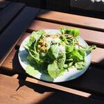 PEANUTS Cafe - サラダセットを付けました