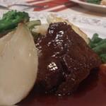 13752405 - 牛肉の赤ワイン煮