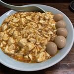 麺屋 滝昇 - 料理写真:マーボー麺、うずらTP