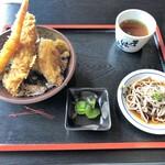 Sobadokohanayamaderashukubou - ミックス天丼