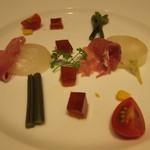 舞桜 - 生ハムと冷野菜