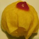 七色てまりうた - おまけのオムライスてまり(七色てまり寿司 五色盛り合わせ)