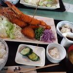 食彩和楽つづみ - エビフライ定食(3本)