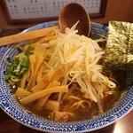 らうめん 麺坊 - 料理写真:正油ラーメン570円 大盛0円 メンマ100円 もやし100円