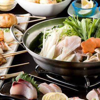 博多名物【水炊き】【もつ鍋】もご用意しております…