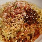 龍影 - 料理写真:汁なし担々麵