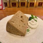 リンクス紅茶と洋酒の店 - シフォンケーキ