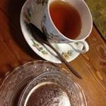 旬菜たけうち - 紅茶・そばを使ったゼリー
