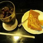 コスタリカ - アイスコーヒー&シフォンケーキ