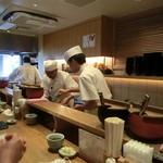日本橋 天丼 金子半之助 - 7/2012