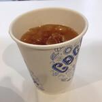 ココナッツグレン - 食べログ無料クーポンでゲットしたアイスティーM
