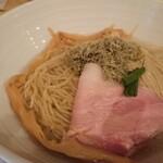 中華そば トリコ - 昆布水つけ麺