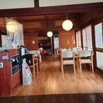 石窯カフェ ヤマト - 店内①