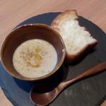 イタリアン食堂 NUKUNUKU - スープ&パン